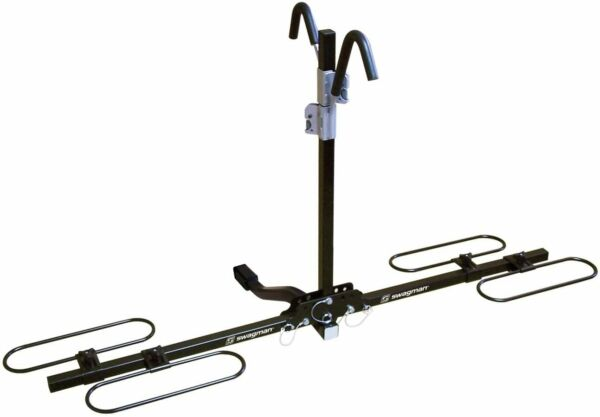 Swagman XC2 Sturdy Hitch Bike Rack for Car 1 1 4quot; and 2quot; Receiver 2 Bicycl.. $115.67