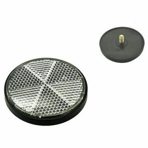 Bicycle Round Reflector Safety Night Cycling Reflective Bike Accessories 4Pcs $8.95