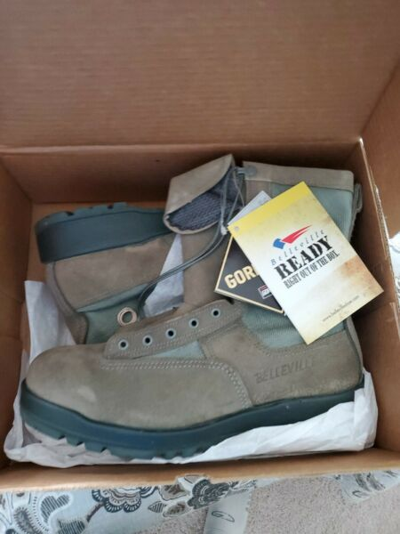 Belleville 690V Military Waterproof Sage Green Flight Boots NEW USA Made 11R
