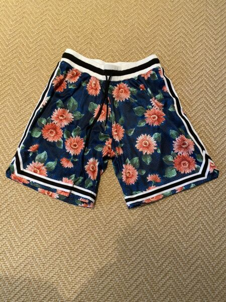 John Elliott Midnight Bloom Game Shorts Size 1 Small New Without Tags Unworn
