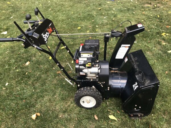 Snow Tek 24 in. Gas Snow Blower