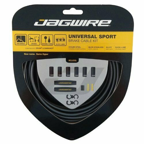 Jagwire Universal Sport DIY Bike Cable Kit for Road or MTN Brakes Black $26.94