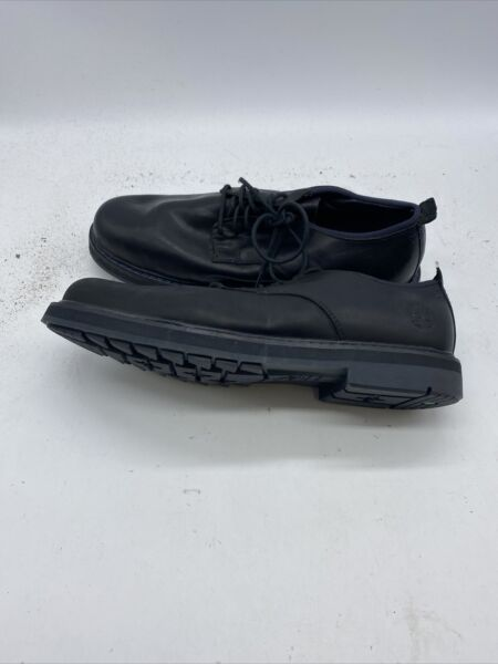 Timberland Work Shoes Squall Canyon Oxford A1U46 Black Mens size 8.5 Z786 $59.99