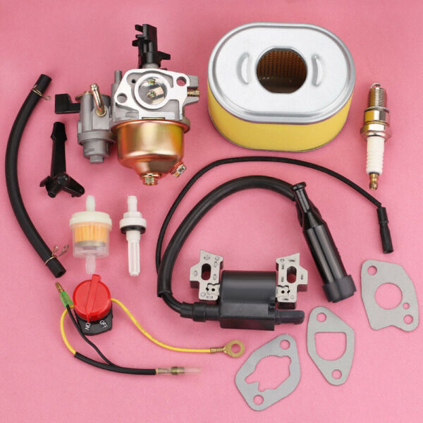 For Honda GX160 GX200 Carburetor Ignition Coil Air amp; Fuel Filter Tune Up Kit New $19.99