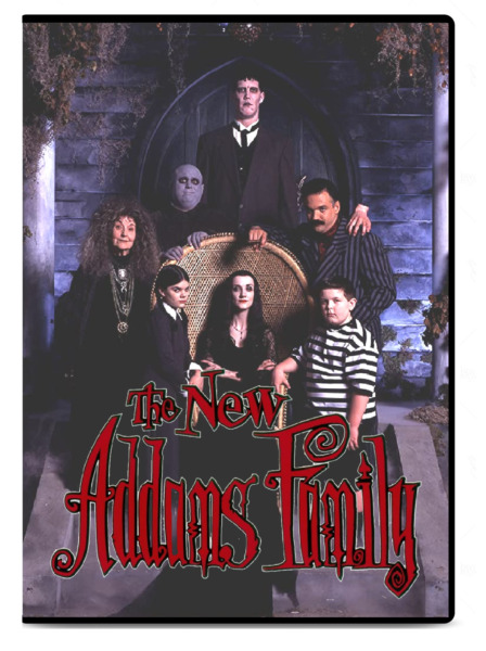 The New Addams Family Complete Series DVD 6 Disc Set