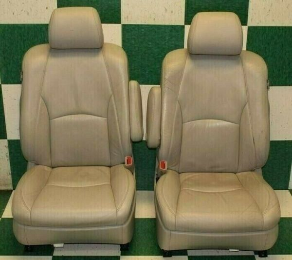 07 09 RX350 Gray Leather Dual Power Electric Bucket Interior Seats Side s $590.99