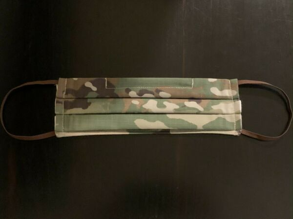 Camouflage Mask for Adult Camo Face Mask Pleated w Nose Wire amp; Filter Pocket