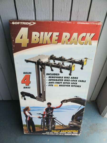 Softride 4 Bike Rack Hitch Mounted Bike Carrier $279.99