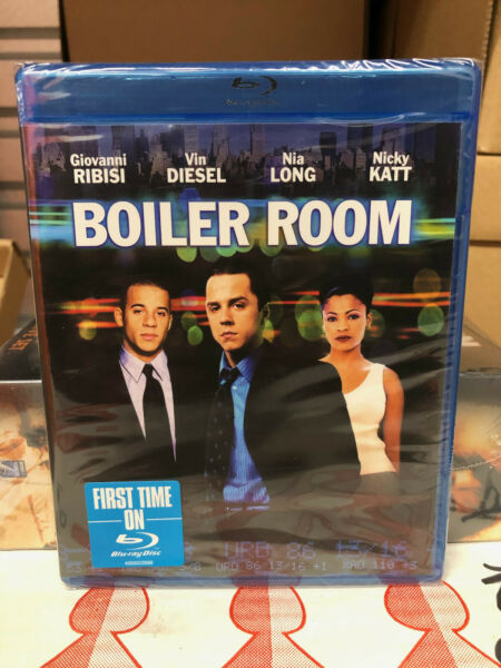 Boiler Room Blu ray Disc 2014 NEW OOP 1st Edition US Release $11.39