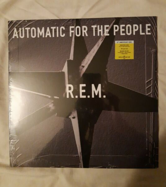 SEALED R.E.M. Automatic for the People 25th Anniversary Edition Vinyl Nov 2017 $21.99