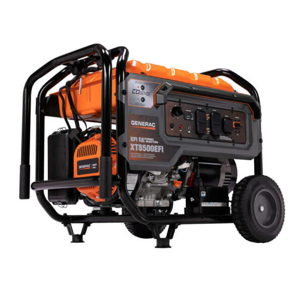 Generac 10000 W Portable Gas Powered Generator gasoline 10kw new efi free ship