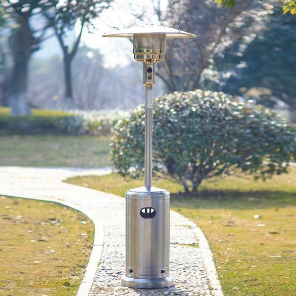 🔥Hampton Bay 48000 Btu Stainless Steel Patio Propane Heater 🔥 SHIPS SAME DAY🔥