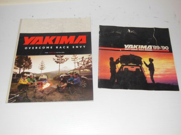 Yakima Rack Vintage Catalogs Brochures 1989 1990 and 2010 $5.99