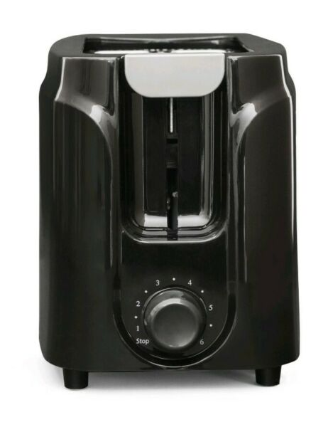 Mainstays Two Slice Black Toaster