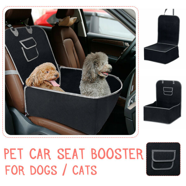 Portable Dog Car Seat Pet Booster Travel Safety Protector For Small Medium Dogs $25.19