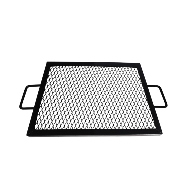 36quot; Square Cooking Grate X Marks Heavy Duty Steel Square Fire Pit Grill