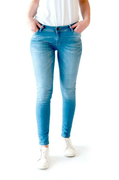 Women#x27;s Stretch Push Up Designer Skinny Jeans Casual Denim Pants Slim Fashion