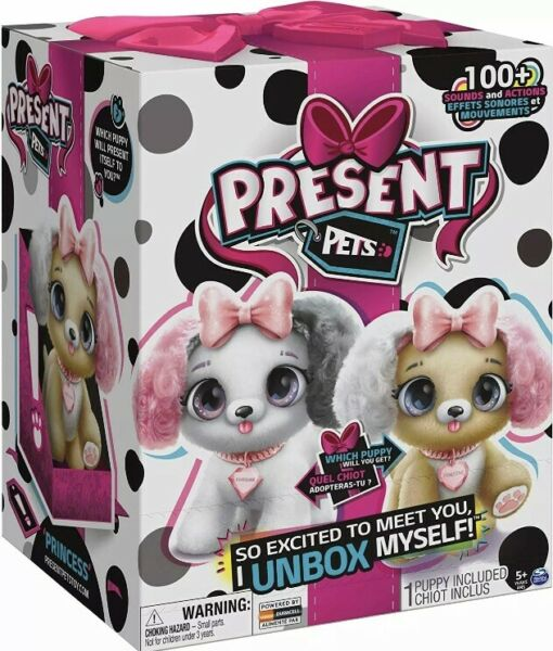 Present Pets Interactive Fancy Pup Princess OR Kweenie Dog Surprise 100 Sounds $58.00