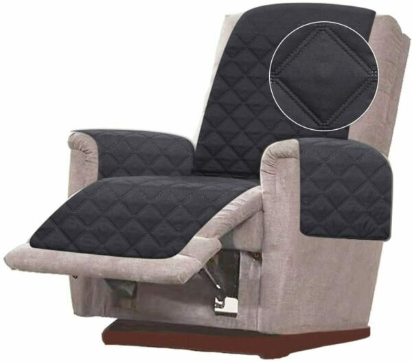 Double Diamond Quilted Chair Recliner Sofa Cover Furniture Protector Wide 23quot; $22.79