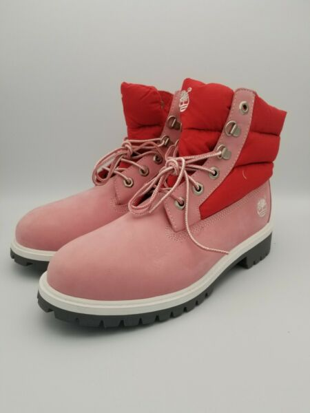 Timberland Pink Snow Boots $100.00