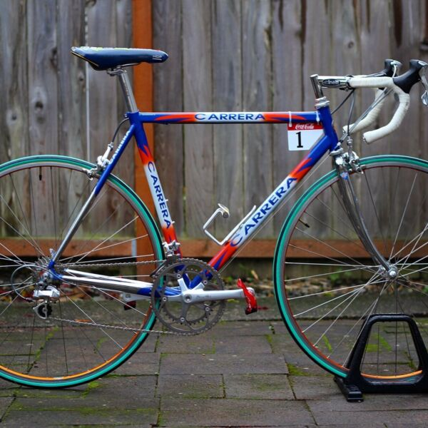 "Carrera ""Eagle"" by Podium Tour de France 1998 team bike for Samuele Schiavina $1800.00"