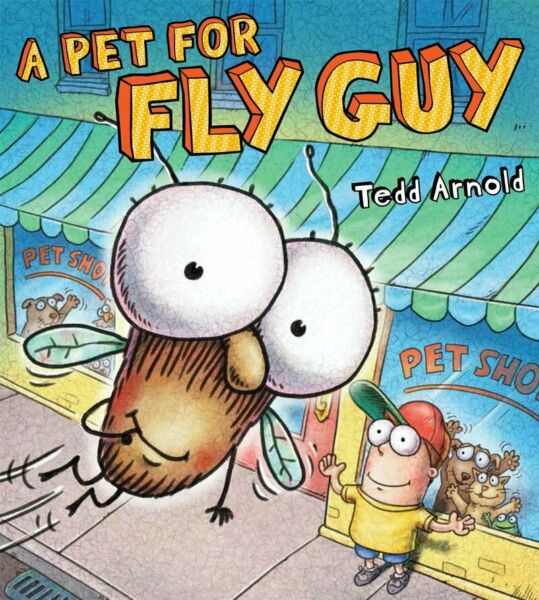 NEW PAPERBACK A Pet For Fly Guy by Tedd Arnold $5.89