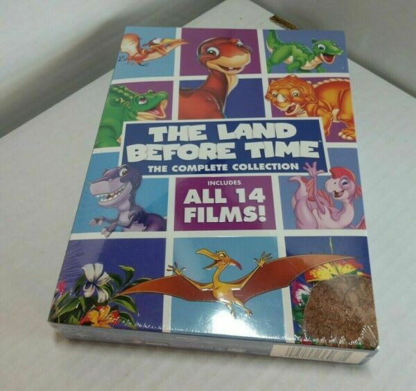 The Land Before Time: The Complete Collection DVD 2016 8 Disc New amp; Sealed