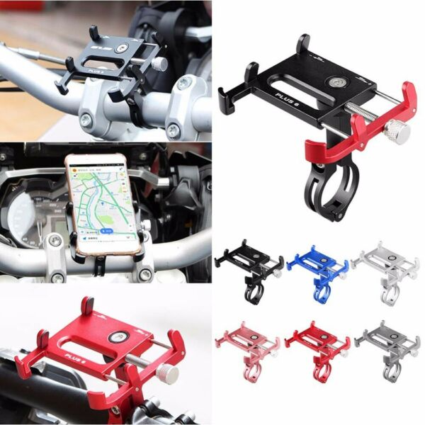Aluminum Motorcycle Bike Phone Holder Bicycle Mount Handlebar Stand For Phone * $15.41