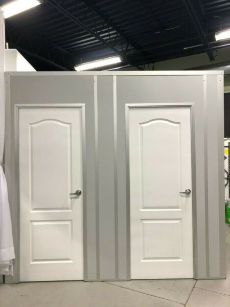 Allied Modular Fitting Rooms 2 4#x27;x5#x27; connected units $1500.00