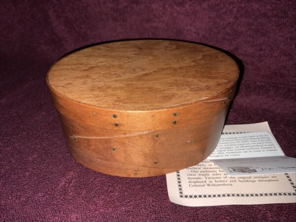 Two Fingered Oval Pantry Box