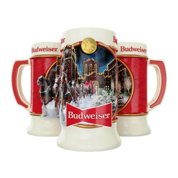 2020 Budweiser Annual Holiday Stein IMPERFECTIONS