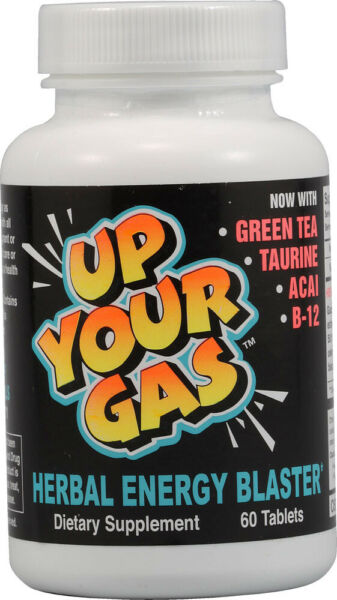 Up Your Gas Energy Blaster by Hot Stuff Nutritionals 30 Tablet $11.98