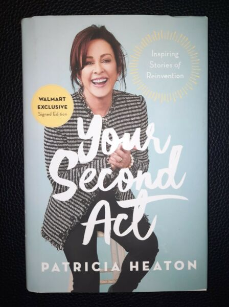 PATRICIA HEATON SIGNED YOUR SECOND ACT HARDCOVER BOOK EVERYBODY LOVES RAYMOND $29.99