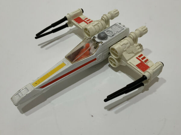 Vintage Star Wars Die Cast X Wing Fighter 1978 Kenner Original