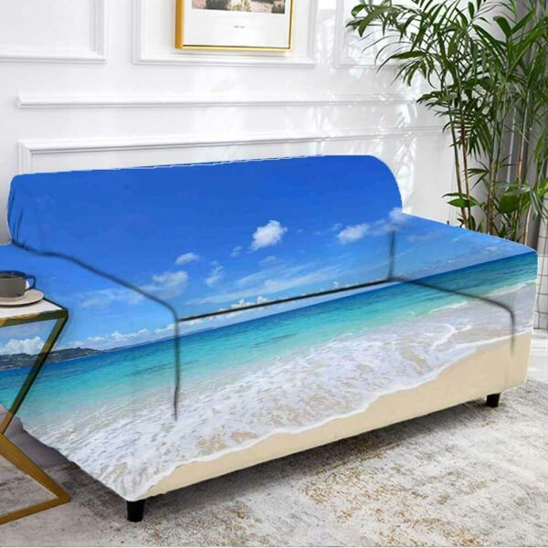 Surprise Water Sky Stretch Sofa Cover Lounge Couch Slipcover Recliner Protector AU $43.11