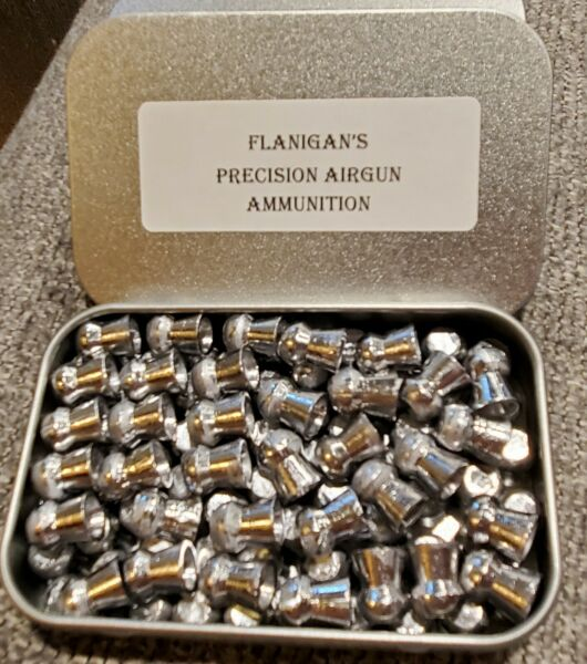 .35 Caliber AIR RIFLE PELLETS 200 82 GRAIN PELLETS WITH NANO LUBRICANT $34.00