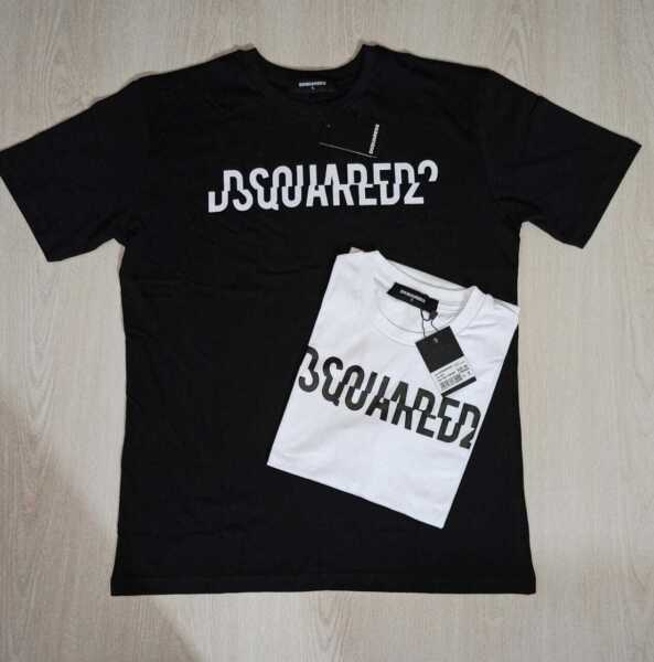 Dsquared2 ICON Mens Tshirts Tops Cotton Short Sleeve Regular Fit GBP 22.99