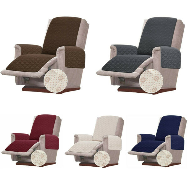 23quot; Anti Slip Small Recliner Chair Cover for Leather Slipcover Pet Dog Protector $22.99