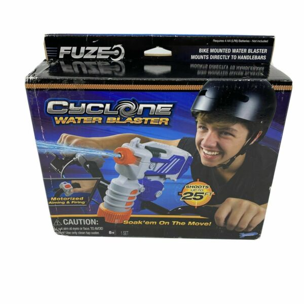Fuze Cyclone Water Blaster from Skyrocket Toys Bike Mounted Squirt Gun Motorized C $24.50