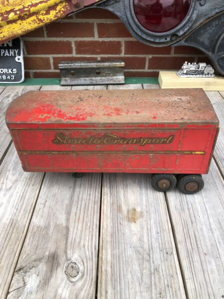 Vintage Structo Tractor Trailer In Complete Condition $35.00