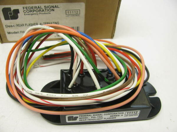 Federal Signal FHL TAIL Universal Tail Light Flasher