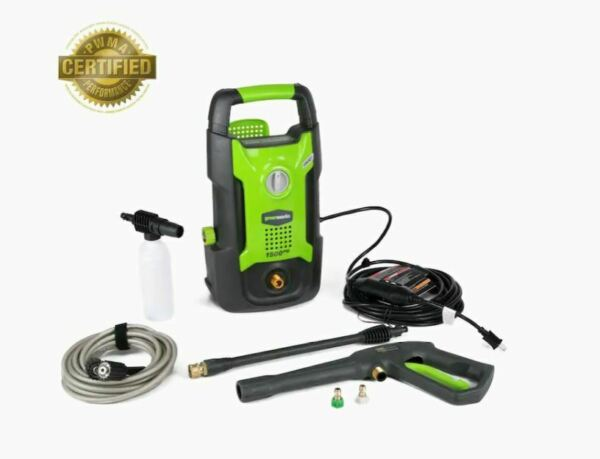 Greenworks 1500 PSI 1.2 GPM Cold Water Electric Pressure Washer