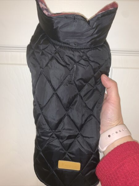 Dog Small Winter Vest Down Jacket Plaid Red Havapoo Poodle Chihuahua KUOSER XS $12.99