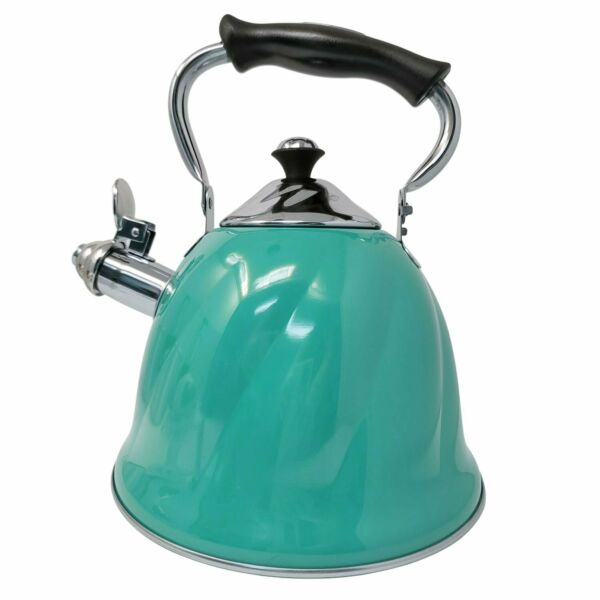 Whistling Tea Kettle Hot Water Boiler Stovetop Stainless Steel with Stay Cool... $25.95