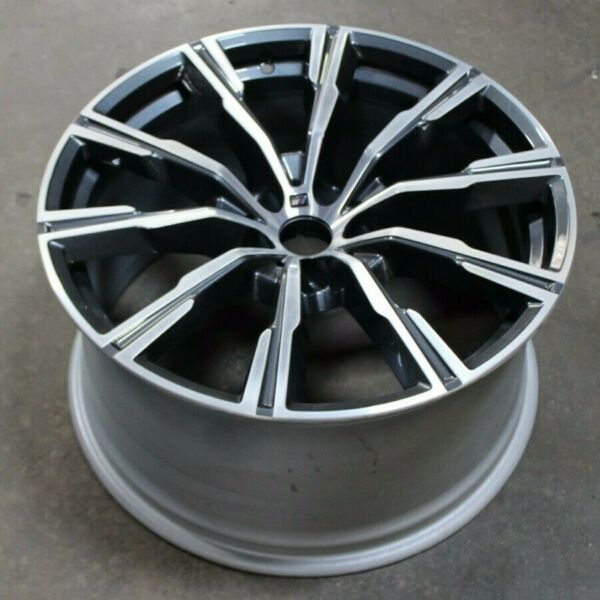 19 20 BMW X5 OEM WHEEL RIM REAR 20quot; 20X10.5 86464 # 740M 36118071997 8071997 $600.00