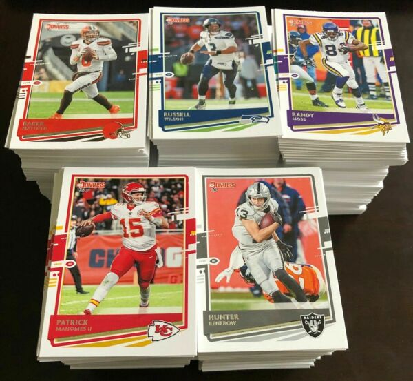 2020 DONRUSS FOOTBALL CARD YOU PICK 1 250 COMPLETE YOUR SET BRADY UPDATED