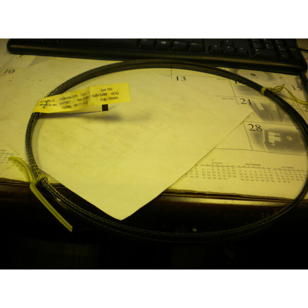 STARRETT BAND SAW BLADE 98171 14FT7INX1 4quot;X.025quot;CARBON HARD BACK BLADE 14T $12.00