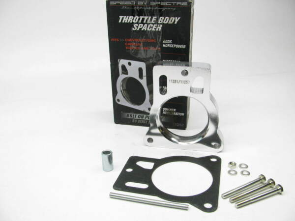 Spectre 11257 Power Plate Throttle Body Spacer 1996 00 Chevy GMC 5.0L 5.7L Truck $29.95