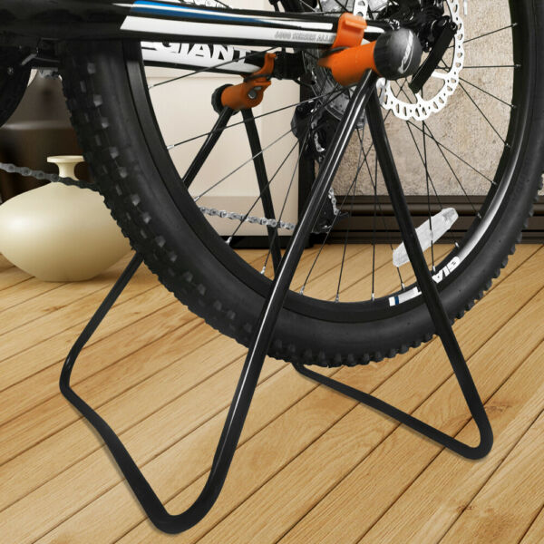 Ibera Bike Floor Stand Storage Folding Wheel Hub Stand Bicycle Parking Rack $24.99