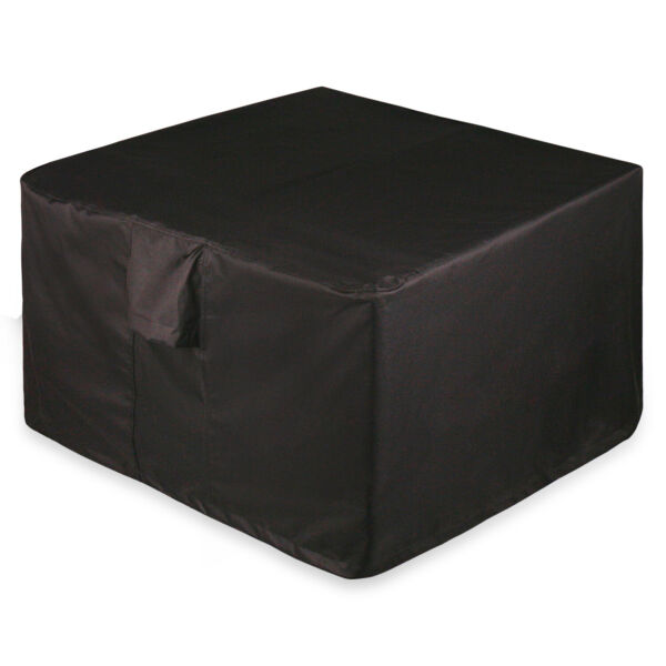 Full Coverage Square Fire Pit Bistro Table Cover 36quot; L x 36quot; W x 22quot; H